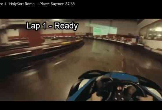 Time Race 1 - HolyKart Roma - I Place: Saymon 37.68