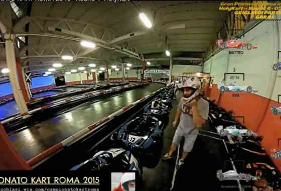 "CAMPIONATO KART ROMA 2015 - Round 4 ""HolyKart"""