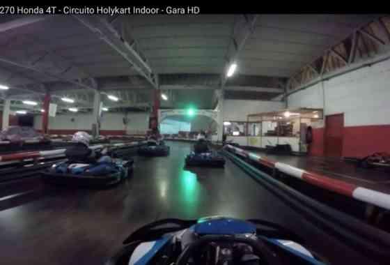 Kart GX 270 Honda 4T - Circuito Holykart Indoor - Gara HD