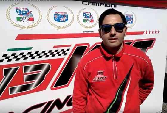 Stefano Tredicine, team manager KGT
